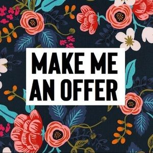 Make me an OFFER! 😌😌😌